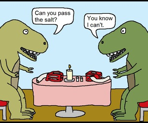 funny, dinosaurs, and lol image