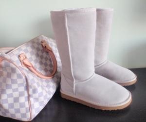 bag, fashion, and uggs image