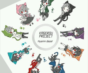 anime, mca, and mekaku city actors image