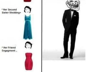 funny, dress, and lol image