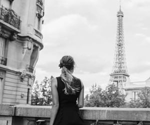 paris, eiffel tower, and fashion image