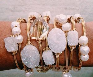 bracelet, gold, and jewelry image