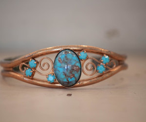 70s, bohemian, and copper image