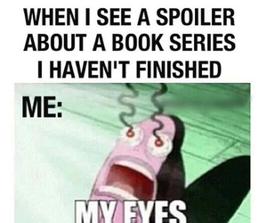 book and spoiler image