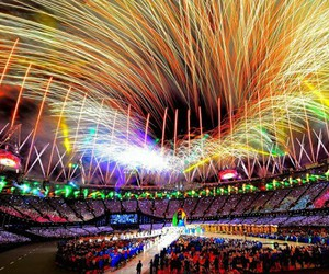color, fun, and fireworks image
