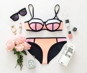 pretty, summer, and swimwear image