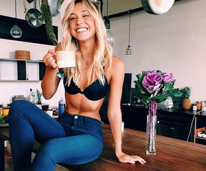 girl, alexis ren, and blonde image