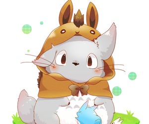 totoro, anime, and cute image