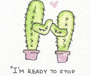 cactus, love, and funny image