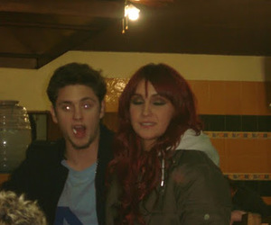dulce maria, vondy, and christopher uckerman image