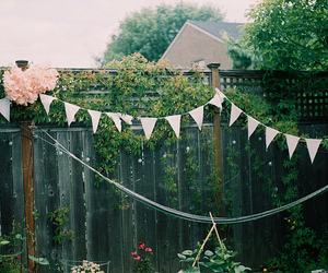 vintage, garden, and indie image