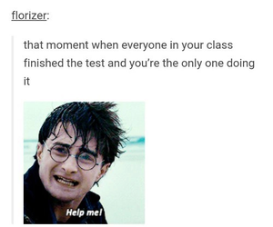 funny, harry potter, and school image