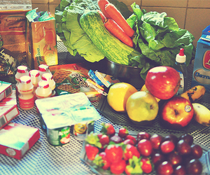 apple, fitness, and healthy food image