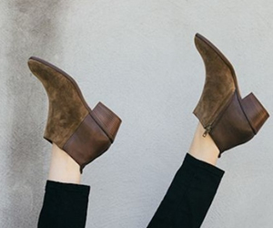 ankle, beauty, and boots image
