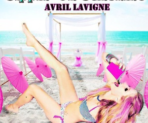 Avril Lavigne, pink, and 2015 image