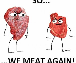 funny and meat image