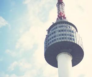 seoul, korea, and tower image