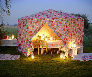 light and tent image