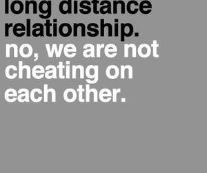 love, cheating, and long distance image