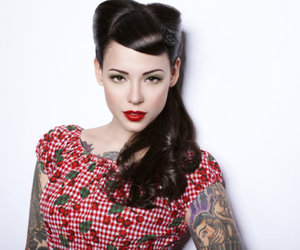 tattoo, Pin Up, and girl image