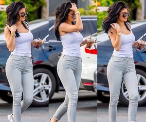kylie jenner, fit, and hair image