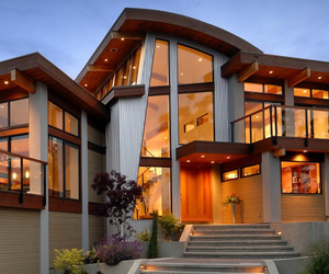 architecture, contemporary, and house interiors image