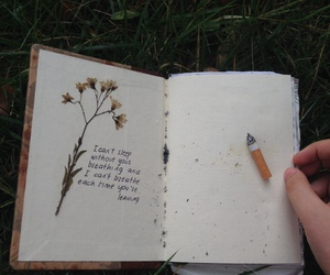 book, breathe, and diary image
