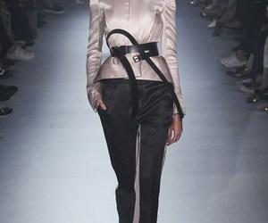 catwalk, fashion, and model image