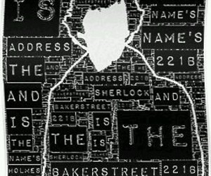 background, black, and detective image