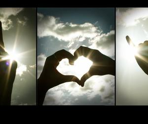 <3 and peace image