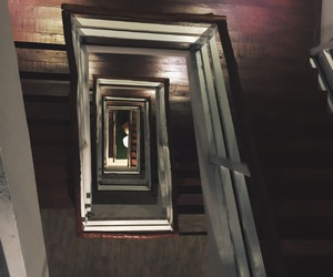 hotel, life, and stairs image