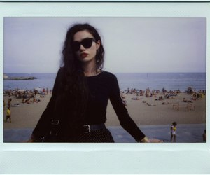 aesthetic, beach, and black clothes image