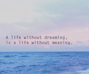 quote, life, and ocean image