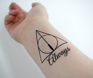 always, harry potter, and books image