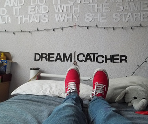 room, shoes, and text image