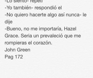 john green, frases en español, and augustus waters image