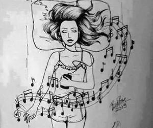 music and sleep image