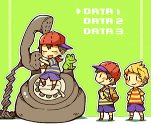 lucas, mother, and ness image