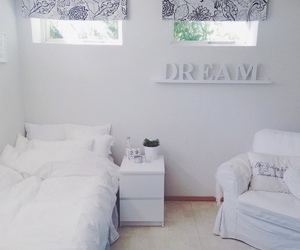 bedroom, Dream, and white image