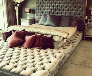 bed, bedrooms, and decor image