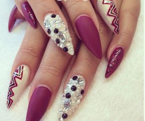 nails and stilettos image