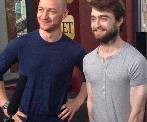 daniel radcliffe, james mcavoy, and people image