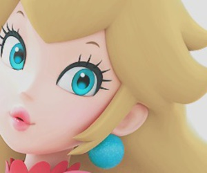 princess peach, video games, and super mario image