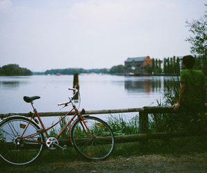 beautiful, bycicle, and photography image