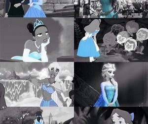 disney, princess, and blue image