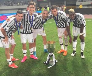 Juventus, leonardo bonucci, and paul pogba image