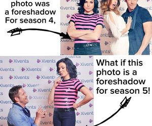 season 5, outlawqueen, and ️ouat image