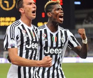 Juventus, paul pogba, and mario mandzukic image