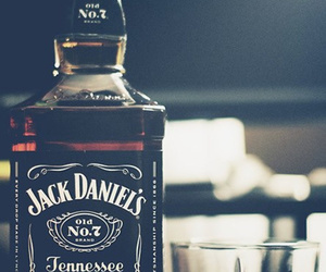 jack daniels, whiskey, and drink image