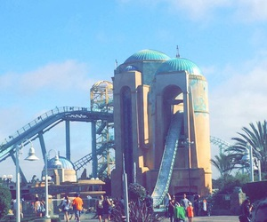 love it, Roller Coaster, and sea world image